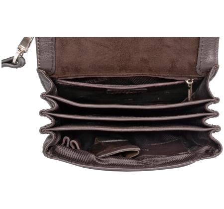 мужская сумка в виде кобуры.