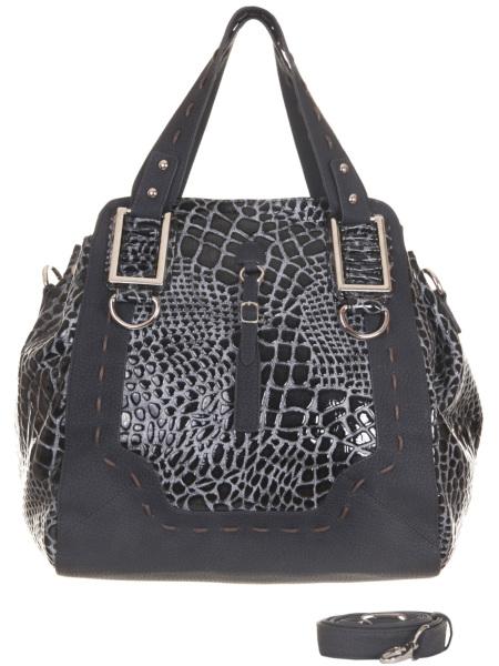 Женские сумки.  Синяя женская сумка Savio 5084.  Главная.  Каталог.