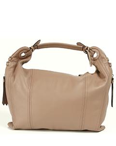 Кожаная красивая сумка Maria Carla 10969 розового цвета.
