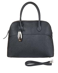 Элегантная сумка Vita Pelle 5905-5 из кожи черного цвета.