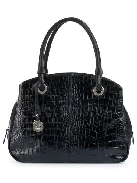 Черные женские кожаные сумки.