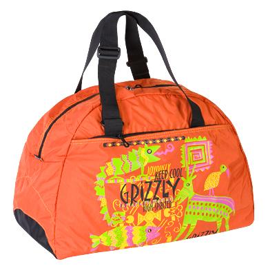 Тёмно-оранжевая дорожная сумка ДЛ-0705.  Дорожные сумки.
