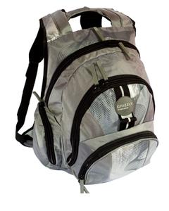 Серый молодежный рюкзак Grizly РМ-1123.  Городские.