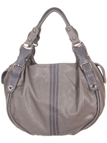 Женские сумки.  Серая женская сумка Savio 5038.  Главная.  Каталог.
