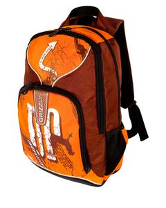 Молодёжный рюкзак с двумя отделениями,передним и боковыми...