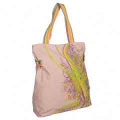 Светло-розовая летняя сумка Л-096.