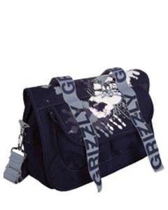 Синяя молодёжная сумка СМ-1023.