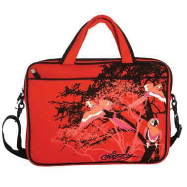 яркие сумки для ноутбуков.