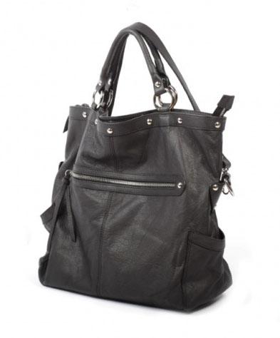 кожаные сумки черные.