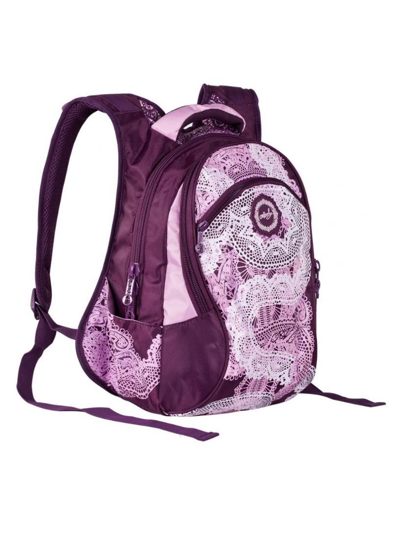 Фиолетовый женский рюкзак Grizzly.  Городские.