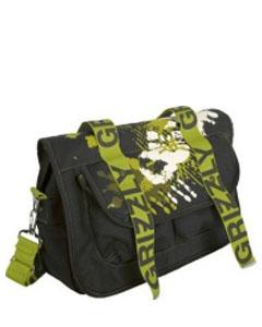 Коричневая молодёжная сумка СМ-1023.