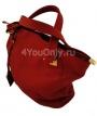 Женские сумки.  Красная кожаная сумка 007 909.  Главная.  Каталог.